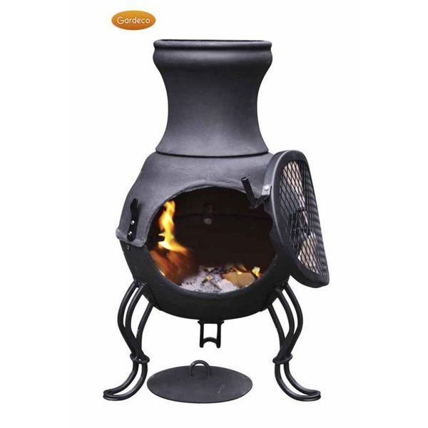 Gardeco Cast Iron Billie Chimenea