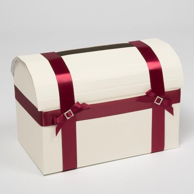 Ivory Silk Mail Box