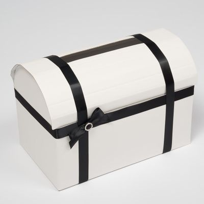 White Silk Mail Box
