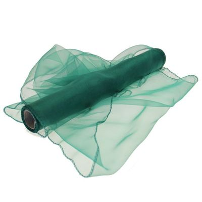 Emerald Organza Roll