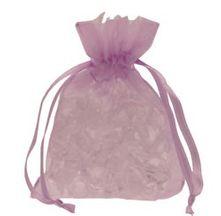 Lilac Organza Favour Bag
