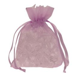Lilac Organza Favour Bag
