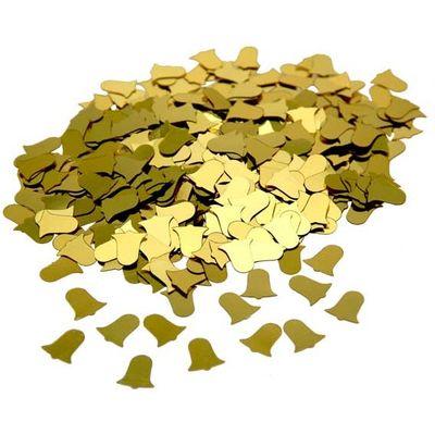 Gold Bells Confetti