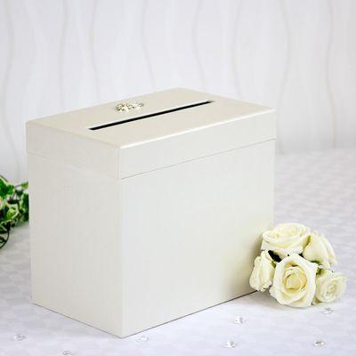 Pearlised Card Box