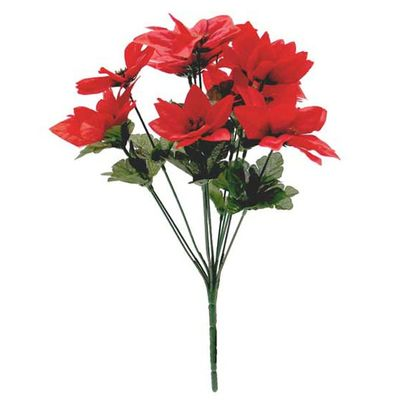 Red Poinsettia Bush - Large