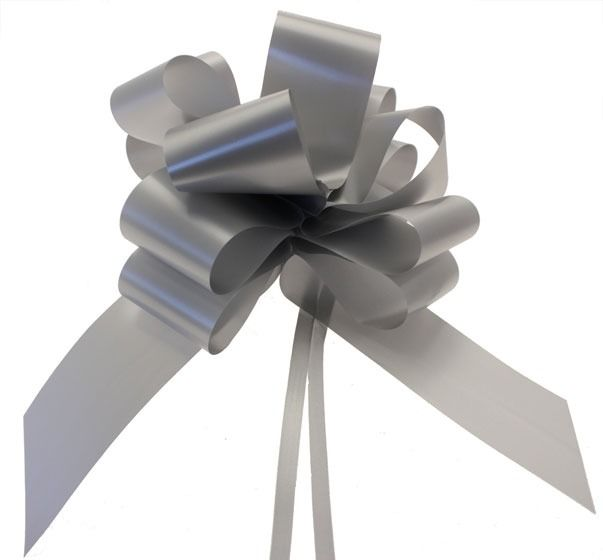 Silver Pull Bow