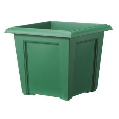 Regency Square Planter - Green