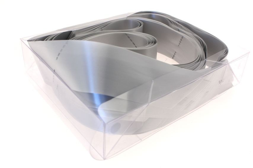Silver Pull Bow in Box