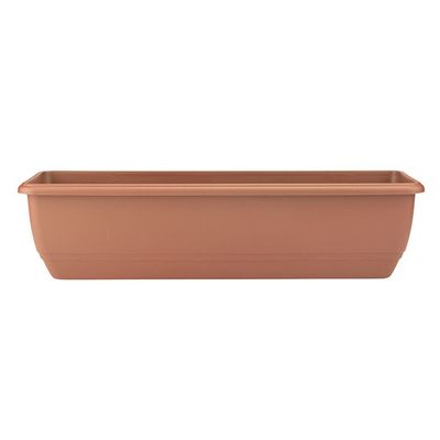 Balconnaire 50cm Trough - Terracotta