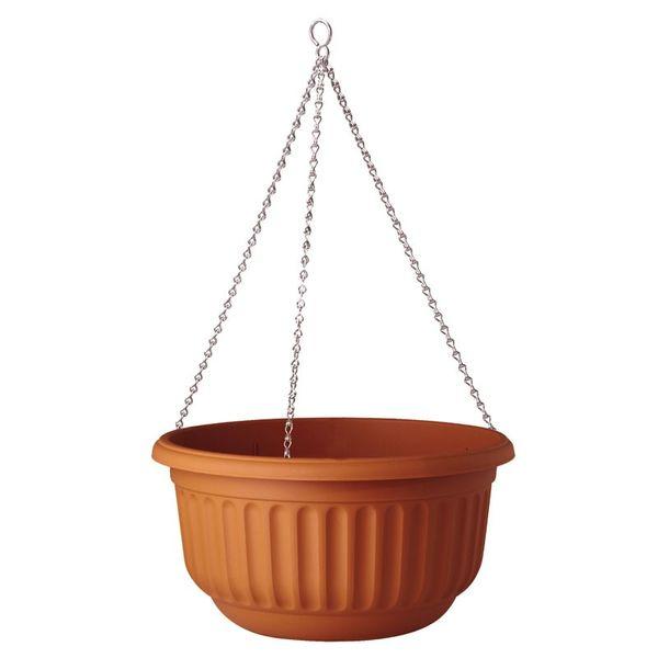 Stewarts Hanging Basket Planter - Terracotta