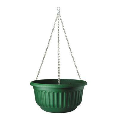 Corinthian Hanging Basket - Green