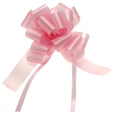 Baby Pink Pull Bow