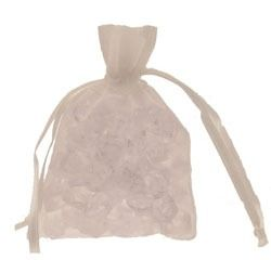 White Organza Favour Bag
