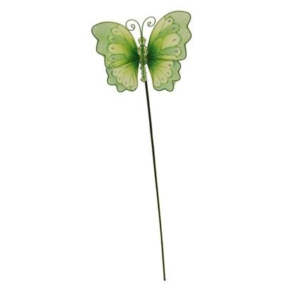 Green Nylon Butterfly Pick