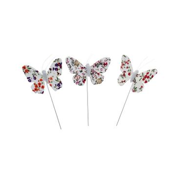 Assorted Floral Butterflies