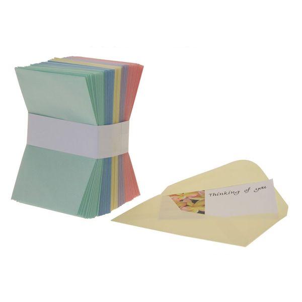 Coloured Assorted Envelopes