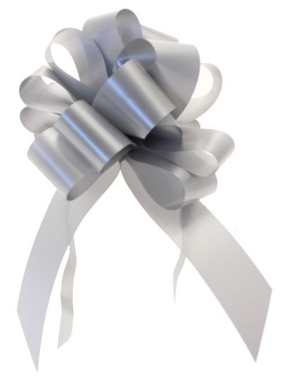 Silver Pull Bow (31mm)