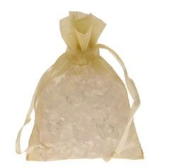 Cream Organza Bag