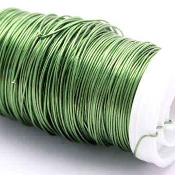 Lime Green Metallic Wire