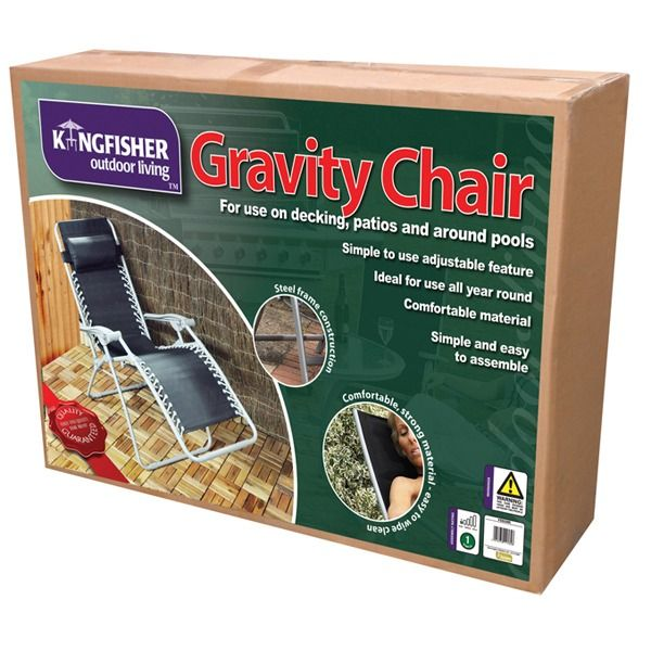 Kingfisher Gravity Reclining Chair - Boxed