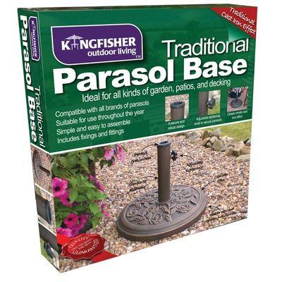 Kingfisher kg Cast Iron Parasol Base