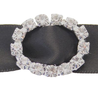 Oval Diamante Buckle