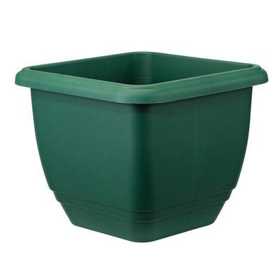 Stewart Balconniere Planter  - Green
