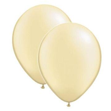 Ivory Latex Balloons