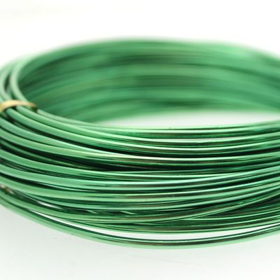 Green Aluminium Wire