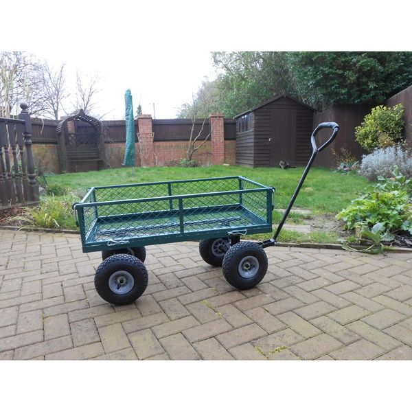 Steel Garden Trolley