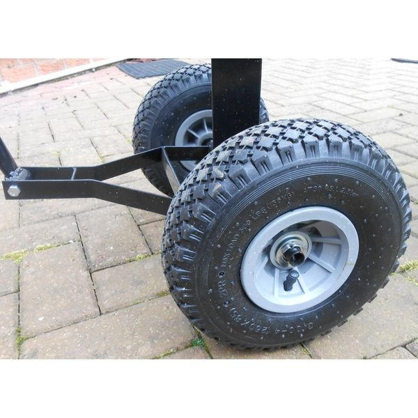 Steel Garden Trolley - Wheel