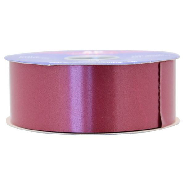 Burgundy Polypropylene Ribbon