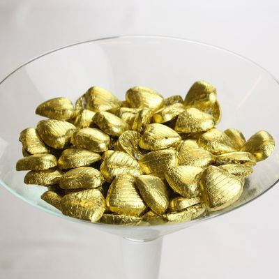 Gold Choc Heart