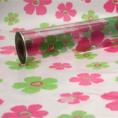 Lime Green and Hot Pink Fleur Film