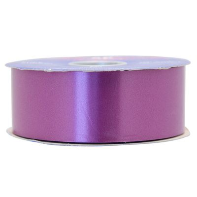 Plum Polypropylene Ribbon