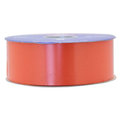 Burnt Orange Polypropylene Ribbon