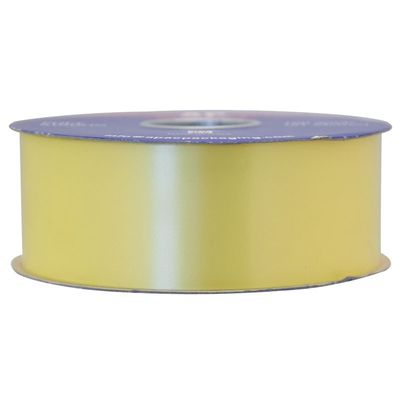 Light Yellow Polypropylene Ribbon