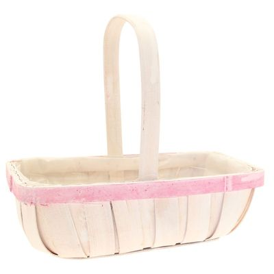 White Trug Basket