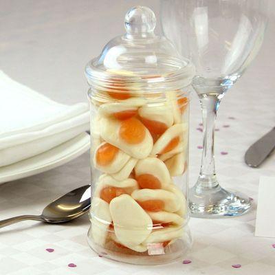 Fried Eggs Candy Jar