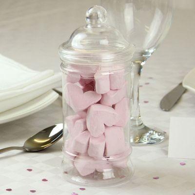 Mallow Hearts Candy Jar