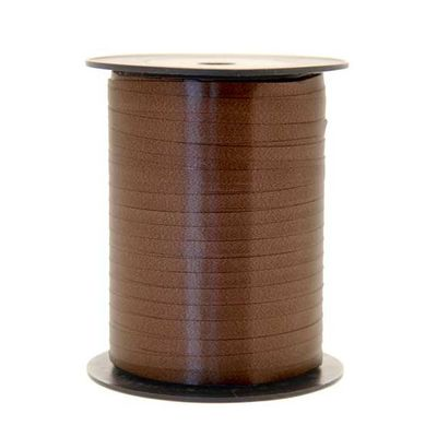 Chocolate Brown Curling Ribbon