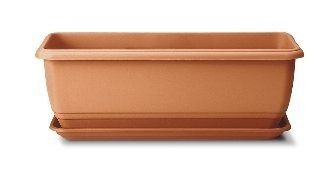 Stewart 50cm Balconniere Trough - Terracotta-