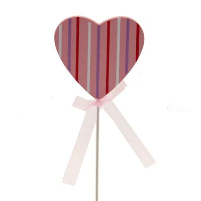Pink Striped Pick
