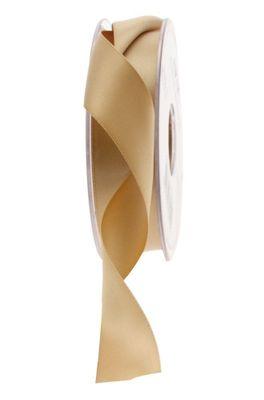 25mm Satin Ribbon Gold