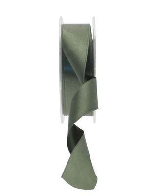 25mm Satin Ribbon Dark Green