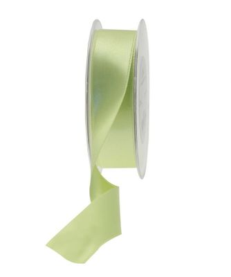 25mm Satin Ribbon Lime Green