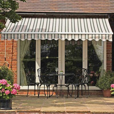 Gablemere 2.5m Ascot Awning - Extended