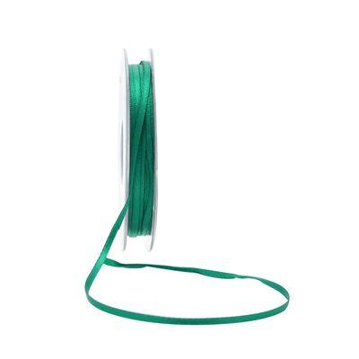 3mm Satin Ribbon Emerald