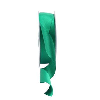 25mm Satin Ribbon Emerald
