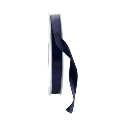 10mm Satin Ribbon Navy Blue